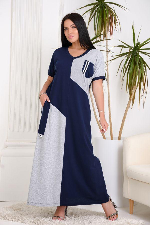 Платье 13470 [синий]