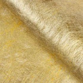 Фетр ламинированный металлизированный, золотой, 57 х 57 см упак 10 листов