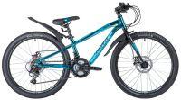 Подростковый горный (MTB) велосипед Novatrack Prime Disc 24 Синий (140716)