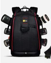 Фоторюкзак для фотоаппарата Canon Nikon черный