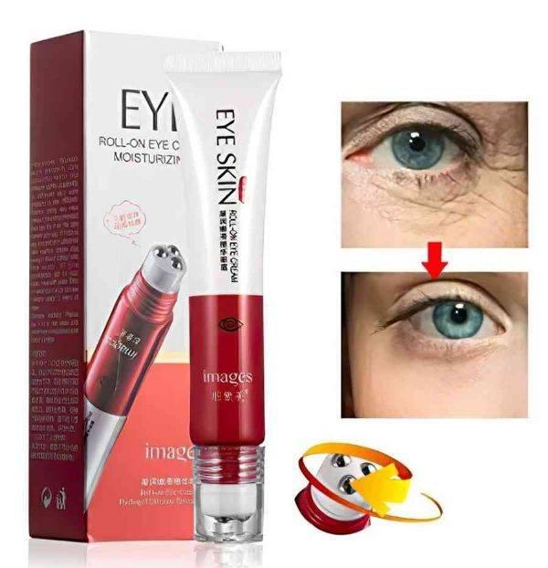 Крем для кожи вокруг глаз с тремя роликами увлажняющий и подтягивающий IMAGES Roll-on Eye Cream Moisturizing (20мл) (s120)