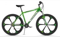 Велосипед Bravo Hit 26 D FW Зелёный/белый/серый (HD00000324)