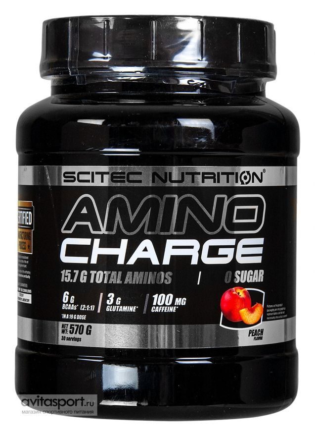 Scitec Nutrition Amino Charge 570гр