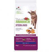 Trainer Natural Adult Sterilised With Salmon Корм с лососем для взрослых стерилизованных кошек (10 кг)