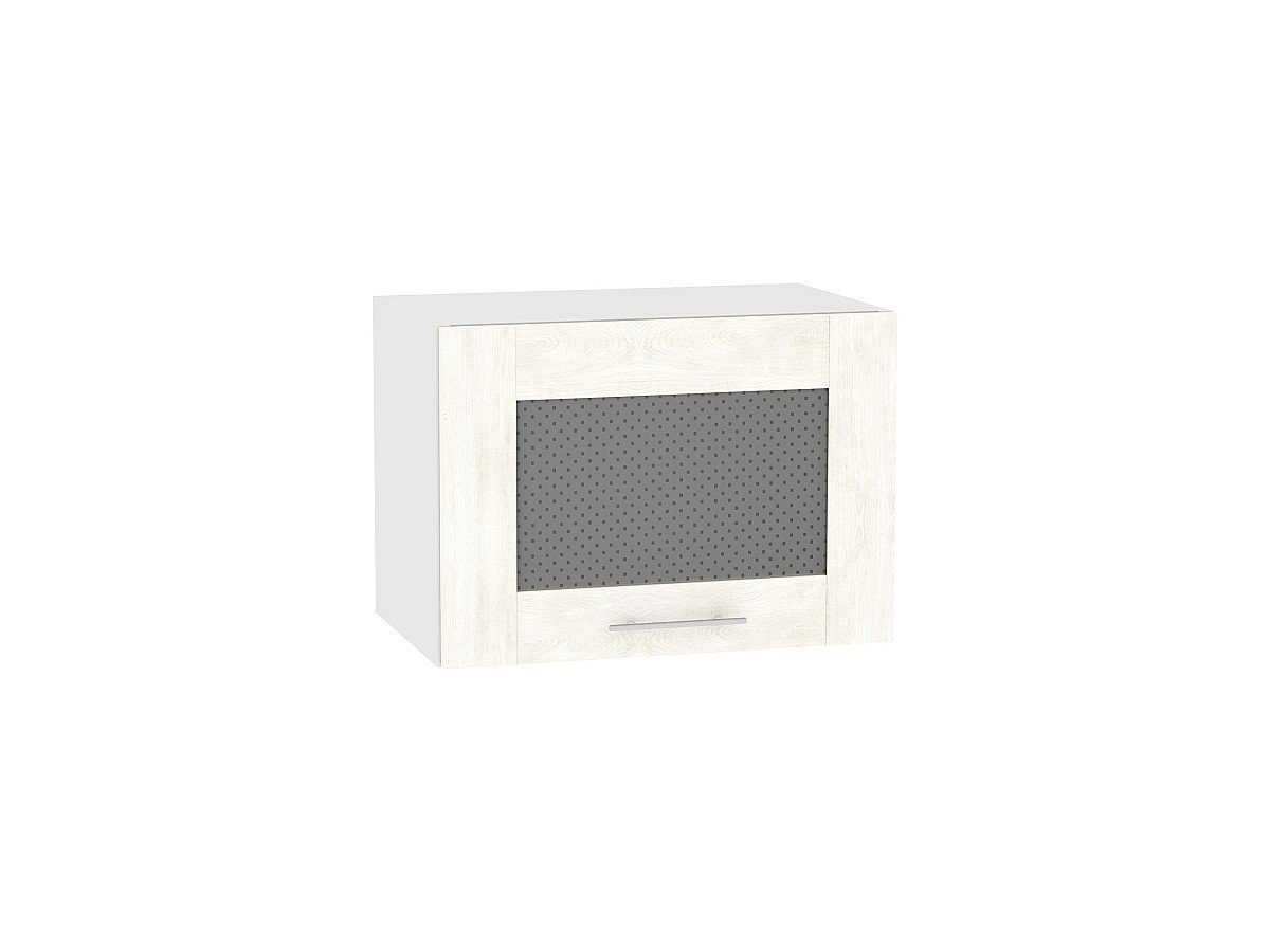 Шкаф верхний Лофт ВГ510 со стеклом (nordic oak)