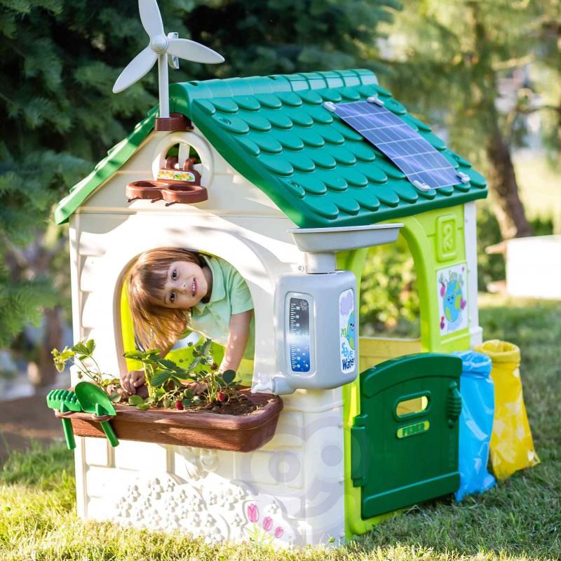 Домик уличный садовый