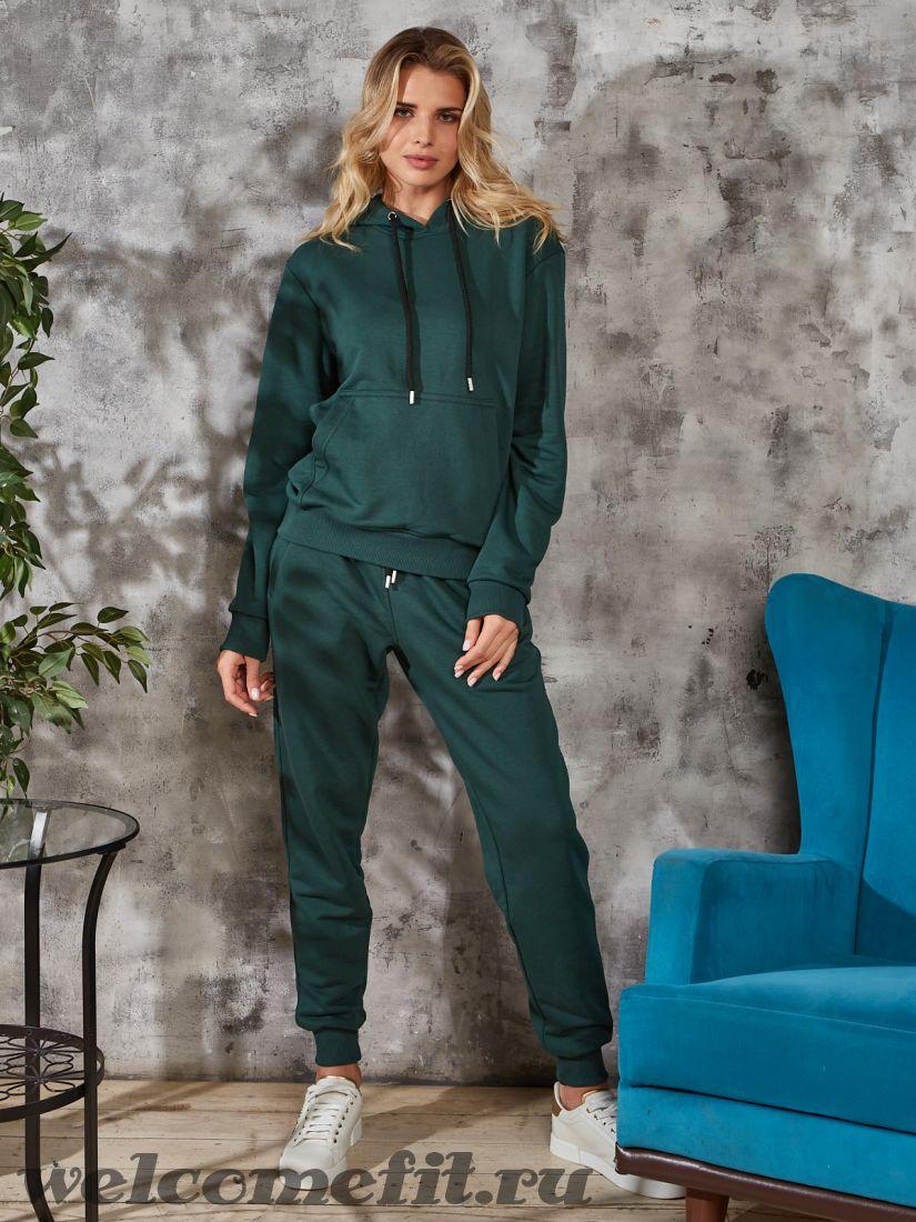 """Спортивный костюм """"кенгуру"""" - темно-зеленый"""