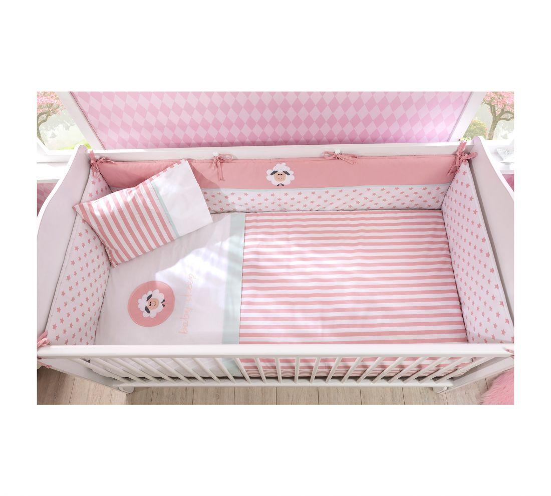 Lovely Baby Комплект постельных принадлежностей для девочки (70х140 см)