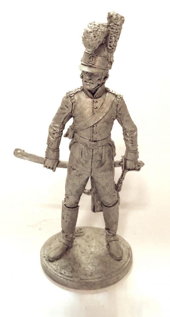 Фигурка Рядовой 6 кавалерийского полка Португалия олово