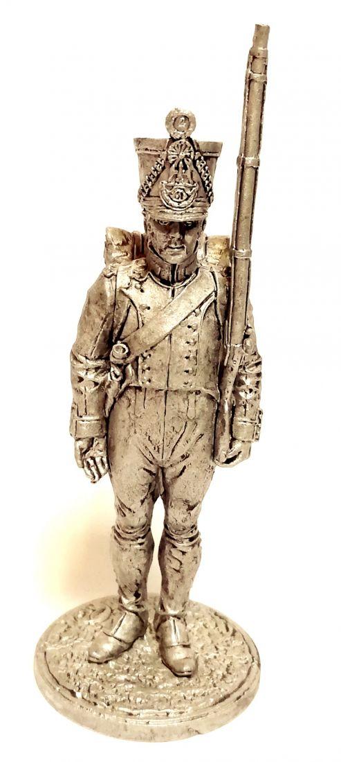 Фигурка Фузилер 61-го линейного полка. Франция, 1812-14 гг. олово