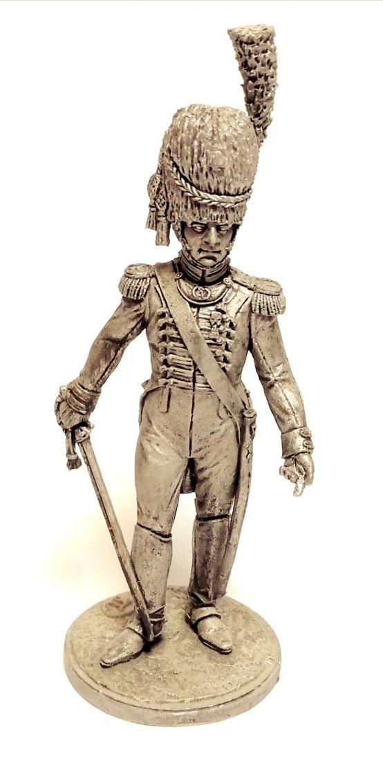 Фигурка Офицер гвардейских гренадеров. Вестфалия, 1809-10 гг. олово