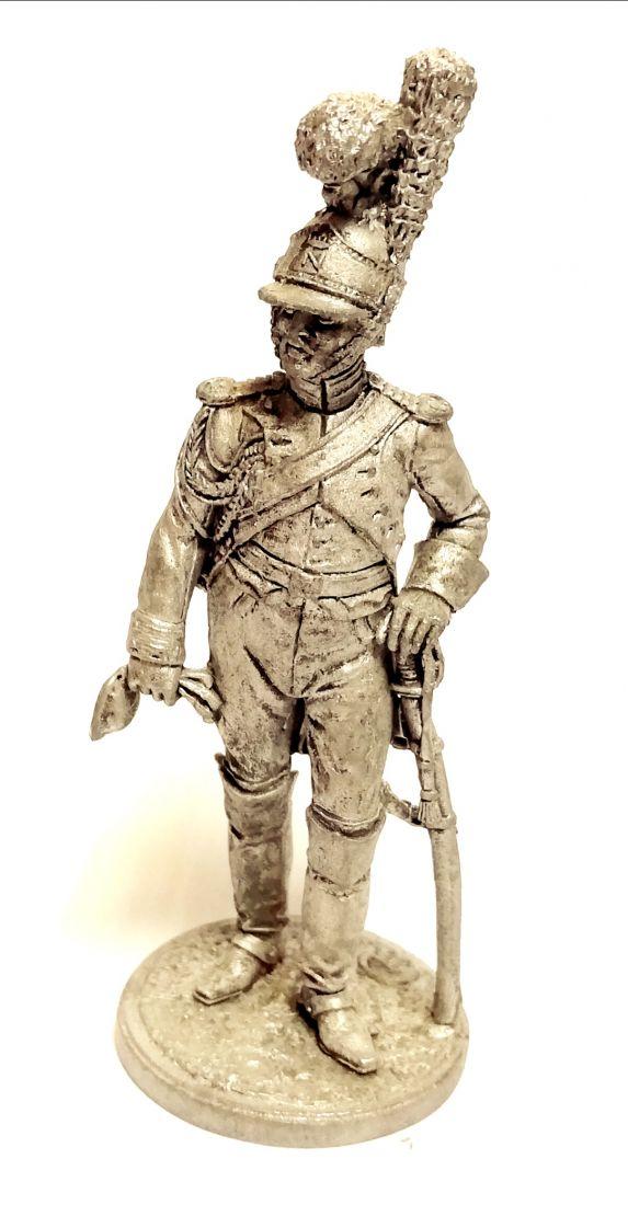 Фигурка Рядовой Почетной королевской гвардии. Италия, 1811-12 гг олово