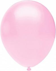 Шар (10''/25 см) Розовый , пастель, 100 шт.
