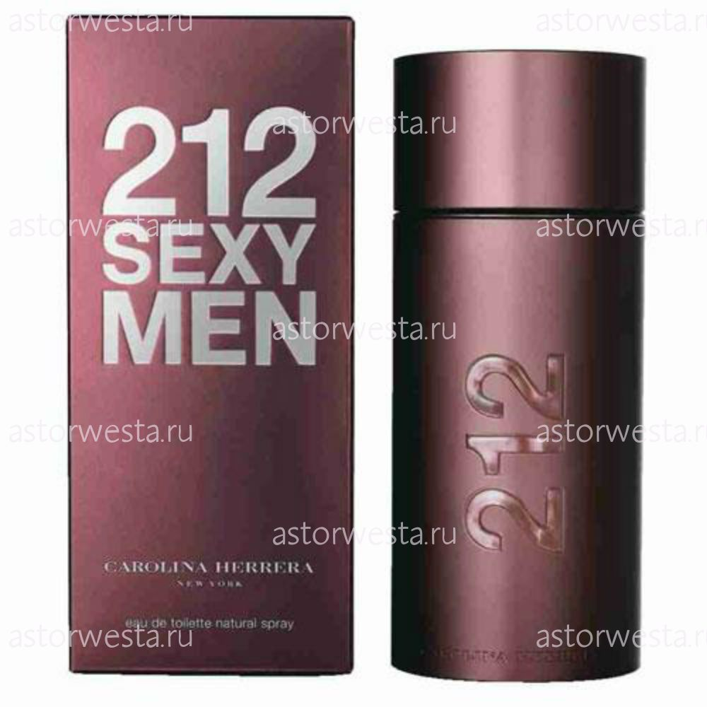 Туалетная вода Carolina Herrera 212 Sexy Men, 100 ml (ПОД ЗАКАЗ)