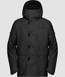 Norrona Roldal Gore-Tex insulated Jacket (M) CAVIAR BLACK