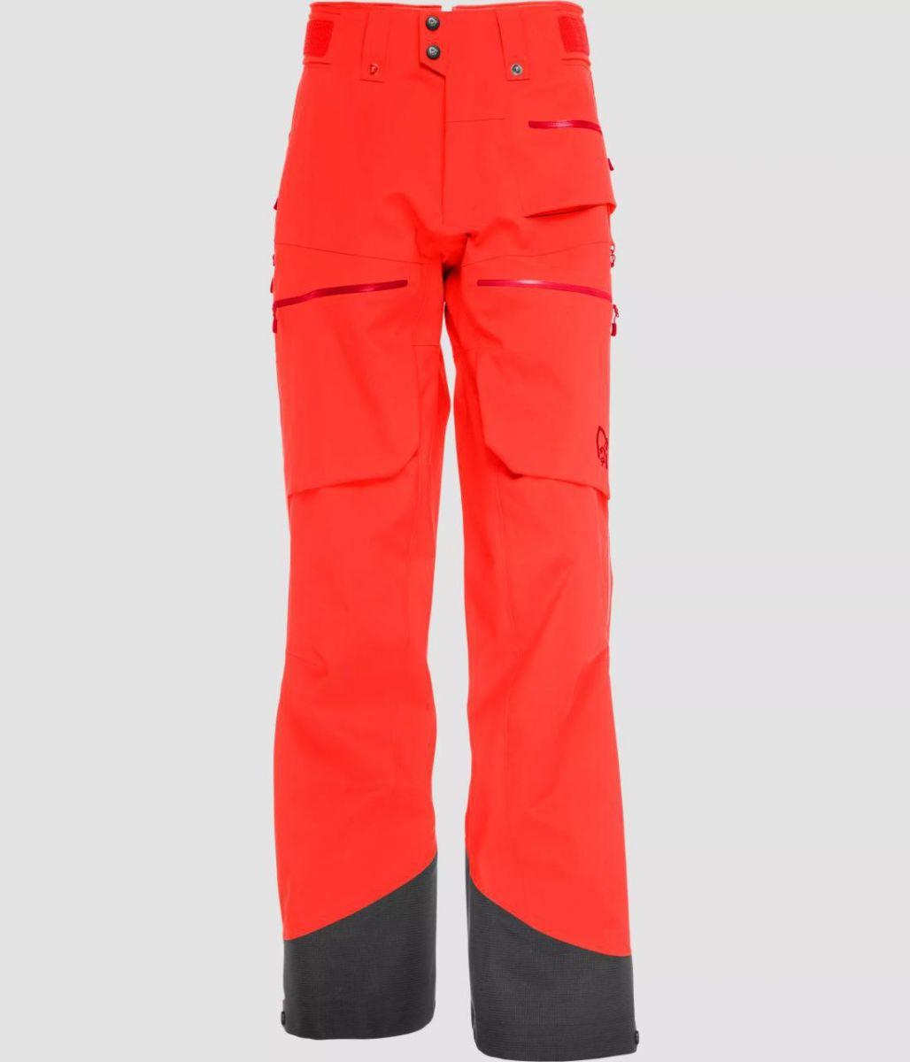 Norrona Lofoten Gore-Tex Pro pants AREDNALIN RED M