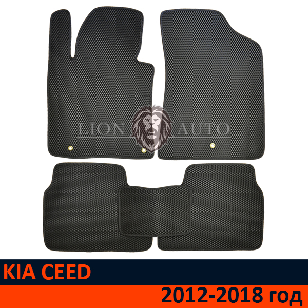 EVA коврики на KIA CEED (2012-2018г)