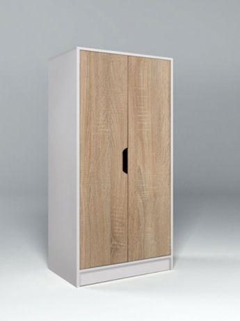 Низкий двухдверный шкаф Сканди