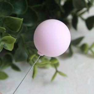 Аксессуар для куклы - Воздушный розовый шарик