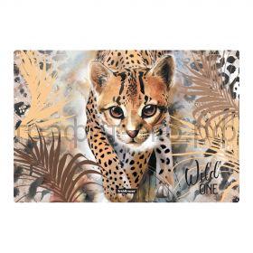 Коврик А3 ErichKrause Wild Cat пластиковый 48740