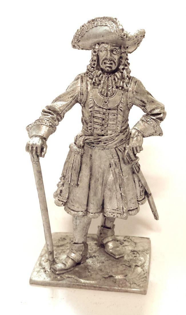 Фигурка Штаб-офицер Преображенского полка, 1698-1700 гг. Россия олово