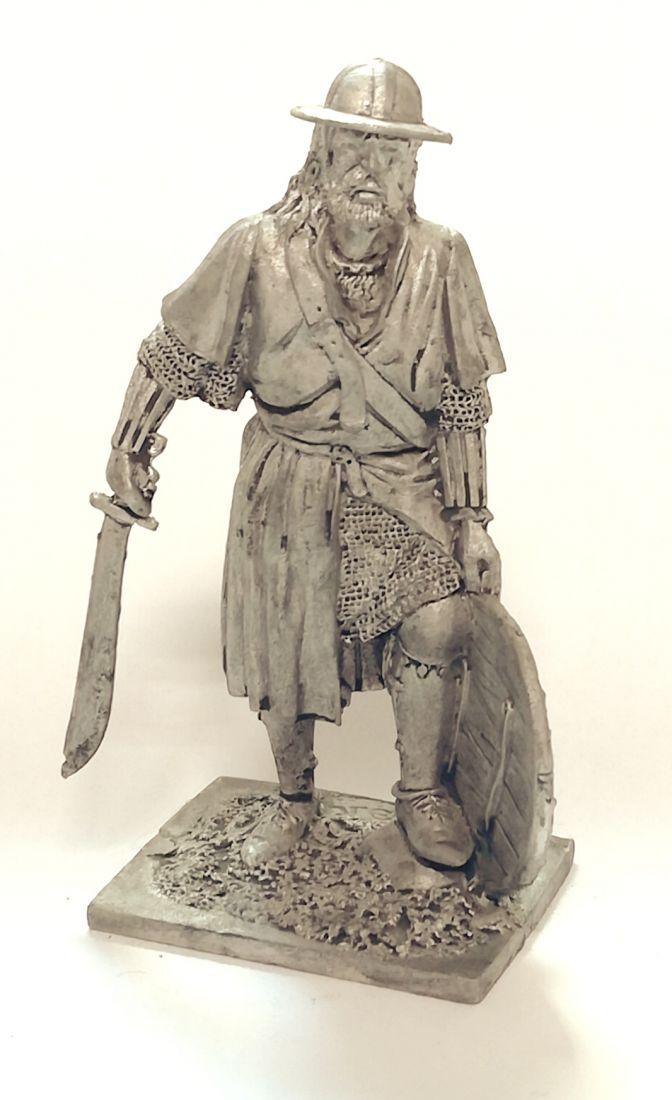 Фигурка Немецкий пехотинец, 14 век Россия олово