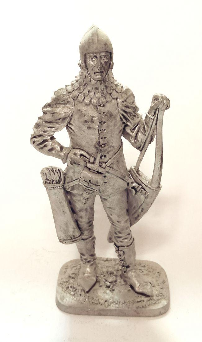 Фигурка Богемский лучник, 2-я пол. 14 века олово