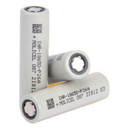 Molicel P26A INR18650 2600 мАч - 35A, аккумулятор
