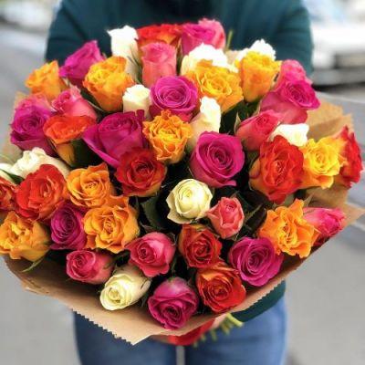 АКЦИЯ! 51 кенийская роза микс