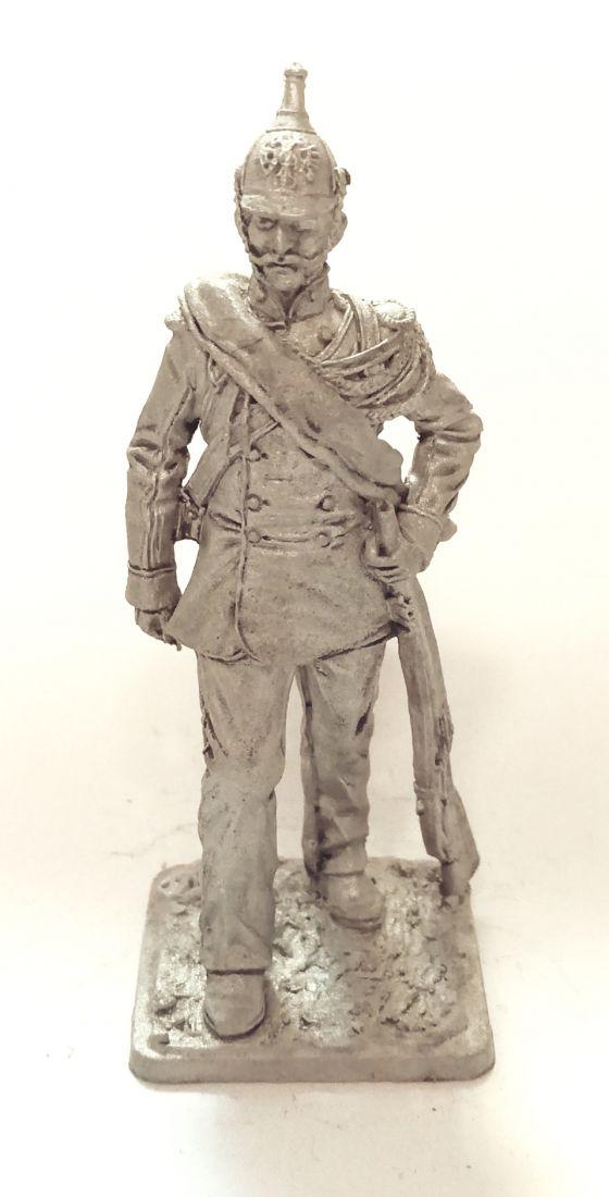 Фигурка Рядовой австрийских жандармов, 1859 г. олово