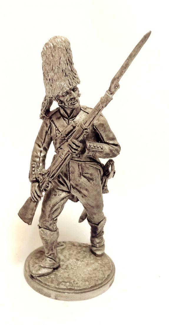 """Фигурка Гренадер пехотного полка """"Принцесса"""". Испания, 1807-08 гг. олово"""