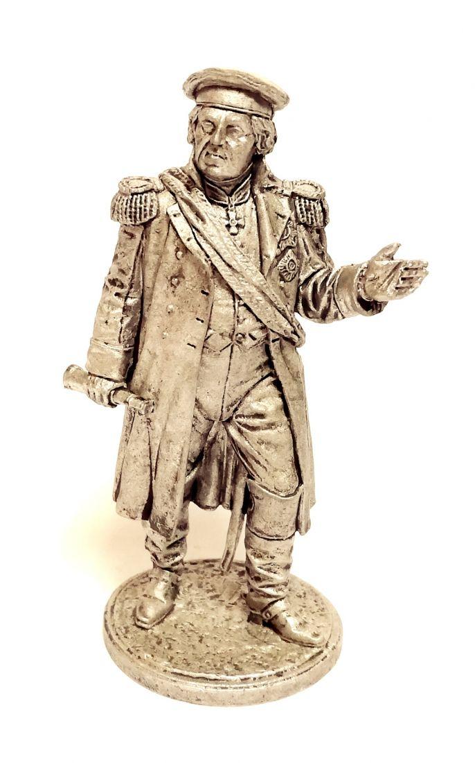 Фигурка Генерал-фельдмаршал князь М.И. Голенищев-Кутузов. Россия, 1812 г. олово