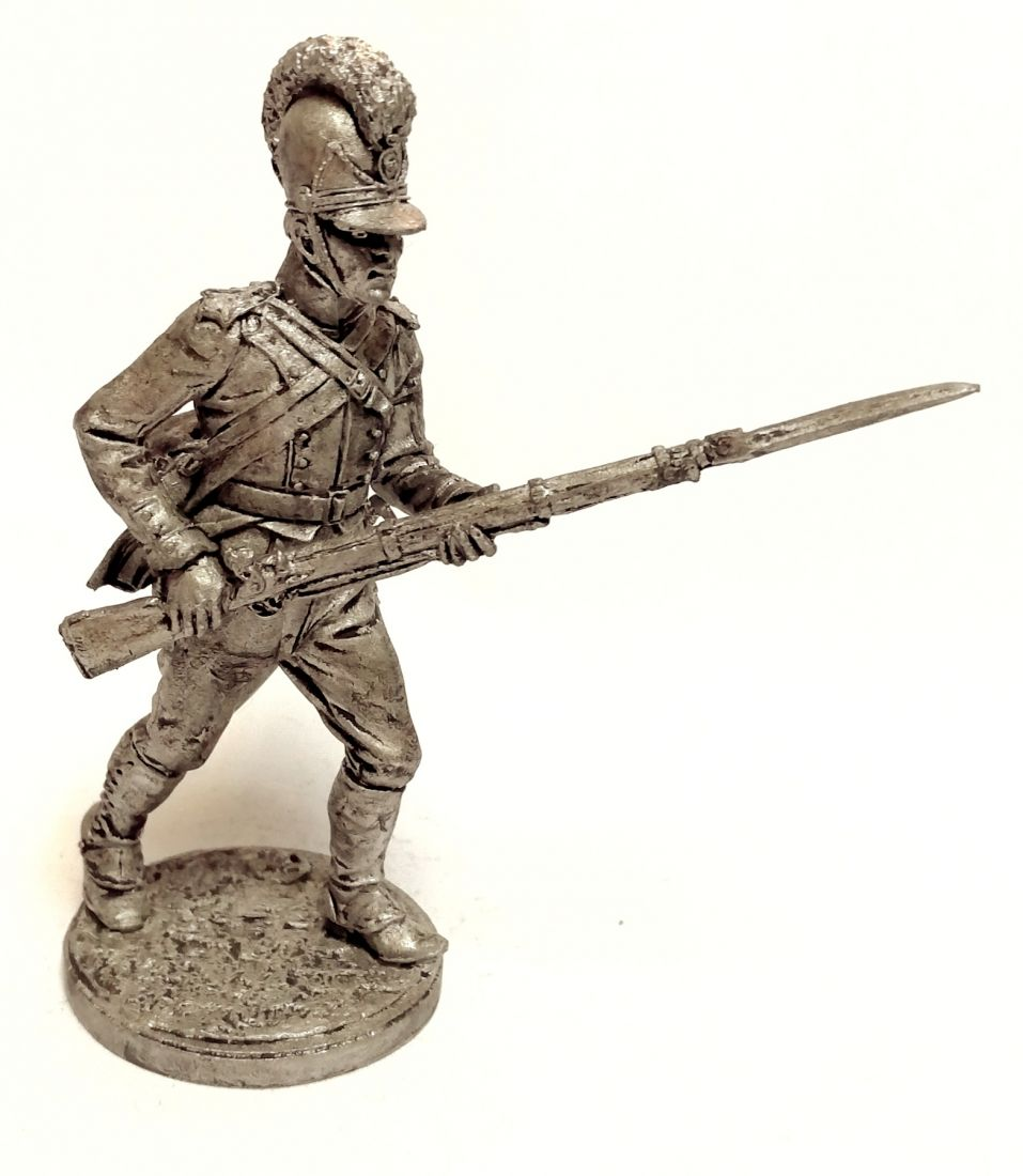 Фигурка Фузилер 9-го линейного полка фон Изенбурга. Бавария, 1806-07 гг. олово