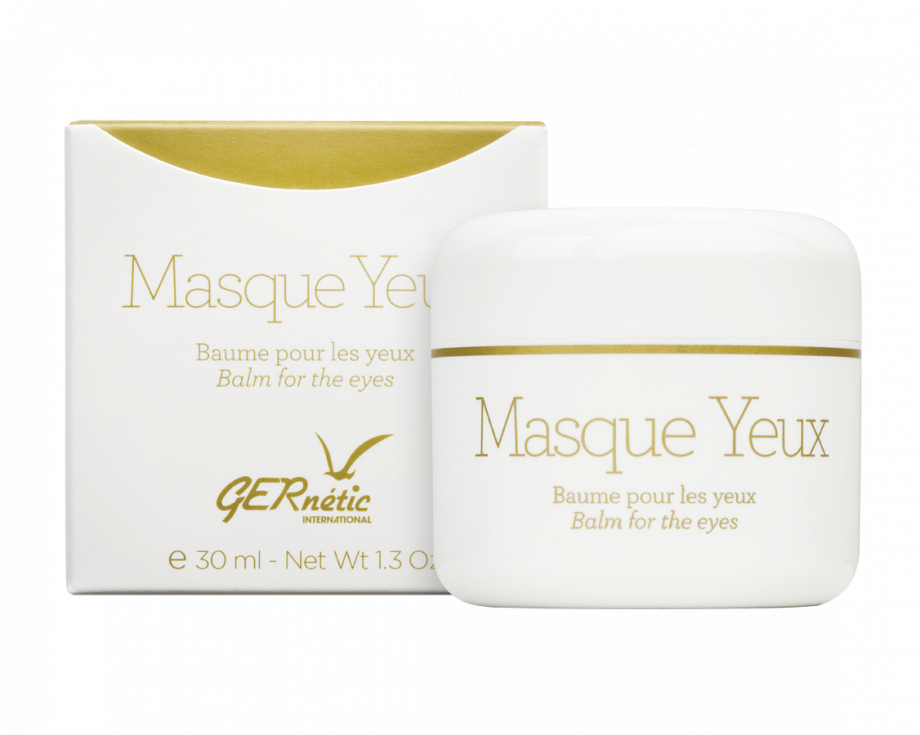 MASQUE YEUX Противоотечная крем-маска для век Gernetic International (Жернетик) 30 мл