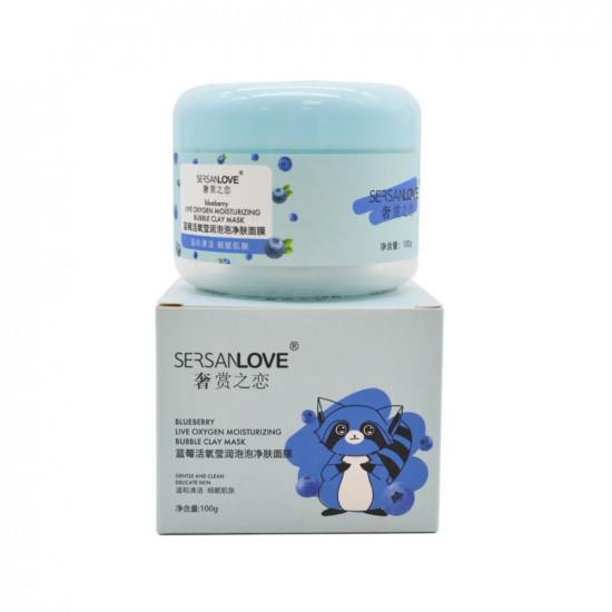 Пузырьковая маска с экстрактом Черники Blueberry Live Oxygen Skin Cleanser (14180)