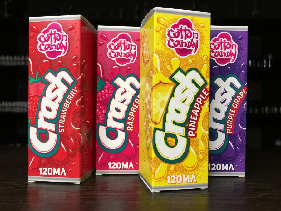 Жидкость Cotton Candy CRASH 120мл