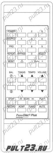 PIANODISC PDS-128 PLUS SILENT DRIVE