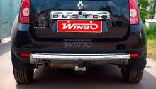 Защита заднего бампера, Winbo, нерж. сталь