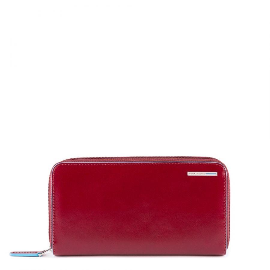 Портмоне женское Piquadro PD1515B2R/R горизонтальное красное