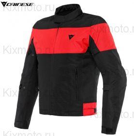 Куртка Dainese Elettrica Air Tex, Черно-красная