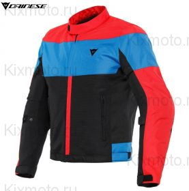 Куртка Dainese Elettrica Air Tex, Черно-красно-синяя