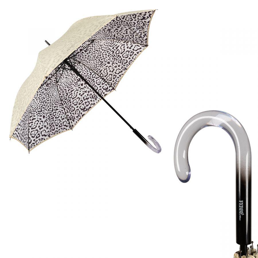 Зонт-трость Ferre 6001-LA Leo Crema