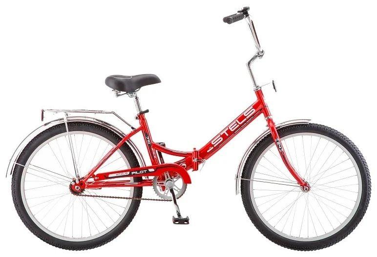 """Городской велосипед STELS Pilot 710 24 Z010 16"""" Красный (LU085350 LU070364)"""