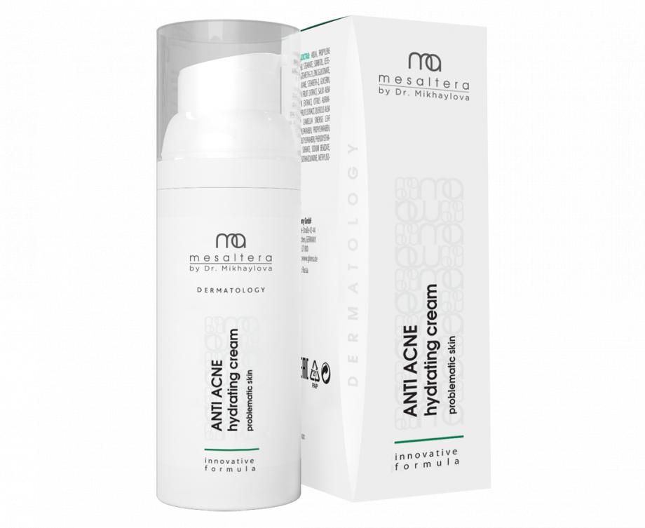 Anti Acne Hydrating cream Aнти Aкнe Гидратинг кpeм MESALTERA by Dr. Mikhaylova (Мезалтера) 50 мл