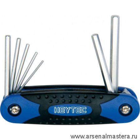 Набор угловых шестигранных отверток в складном блоке HEYCO HE-50813406280