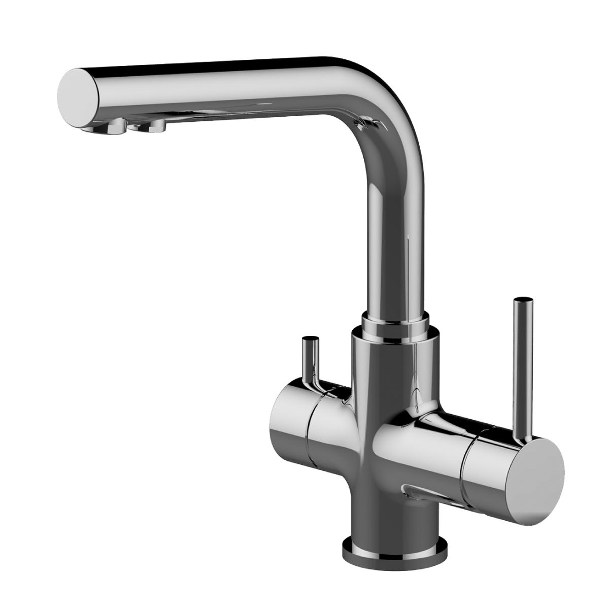 Смес кухня 40мм LEMARK 3061C Комфорт,с подключ к фильтру для питьевой воды, хром
