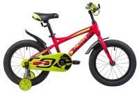 Детский велосипед Novatrack Tornado 16 Красный (133958)