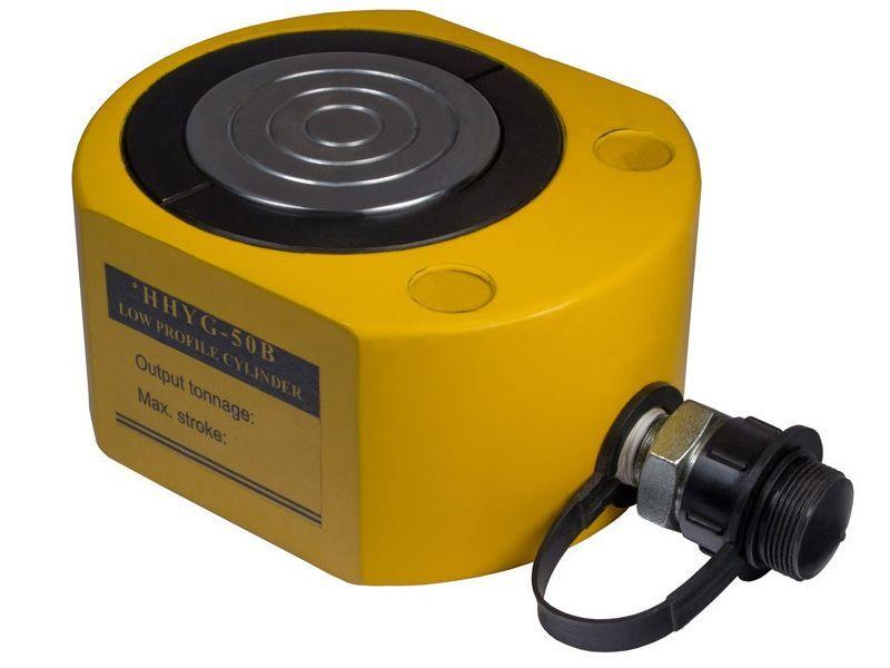 Домкрат гидравлический низкий TOR HHYG-1001  (ДН100М50), 100т