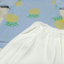 Костюм ананас голубой 02240-7