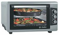 Мини-печь DELTA D-0550 Серая